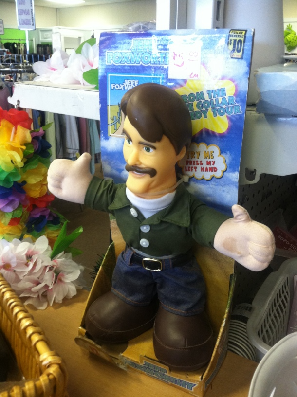I don't see any Ron White dolls out there! Seriously, does Foxworthy even know this exists?