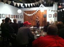 Night Two: Hayley Ellman (Atlanta) at Holly's Corner.