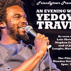 Yedoye Travis returns to Knoxville Monday night!