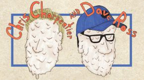 MONDAY: An Evening with Dave Ross & Chris Charpentier