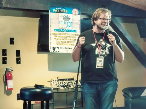 Reid Pegram at World of Beer 9/23/18