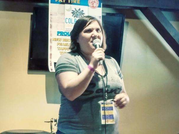 Amanda G at World of Beer, 9/23/18