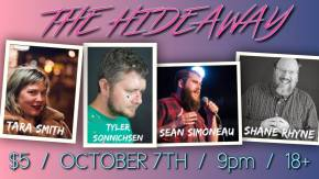 At the Hideaway in Johnson City Tonight